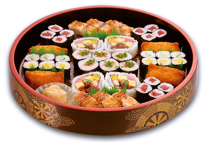 巻き寿司盛込(3人盛)