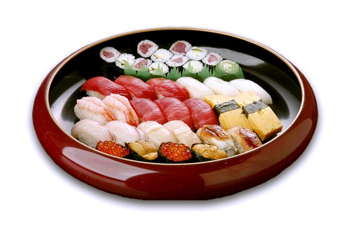 一ノ蔵店限定の「お持ち帰り専用寿司」◆寿司盛り合せ・一ノ蔵(3人盛)4,500円