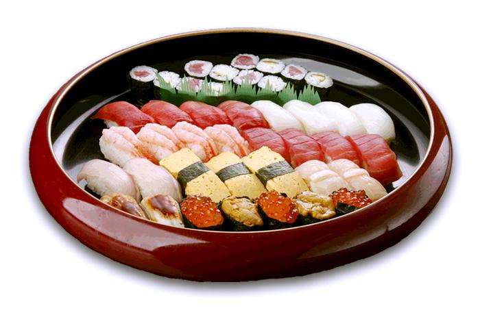 一ノ蔵店限定「お持ち帰り専用寿司」◆寿司盛り合せ・一ノ蔵(4人盛)5,600円