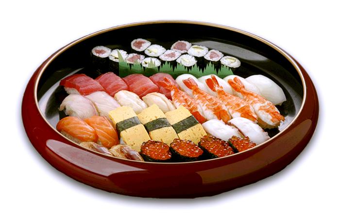 一ノ蔵店限定「お持ち帰り専用寿司」◆寿司盛り合せ・田中(4人盛)4,200円